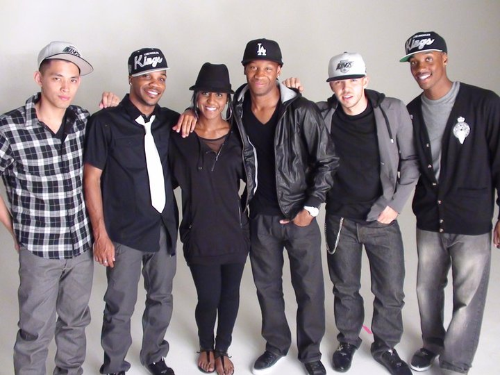 Saleemah and cast on set for A.D. music video shoot.jpg
