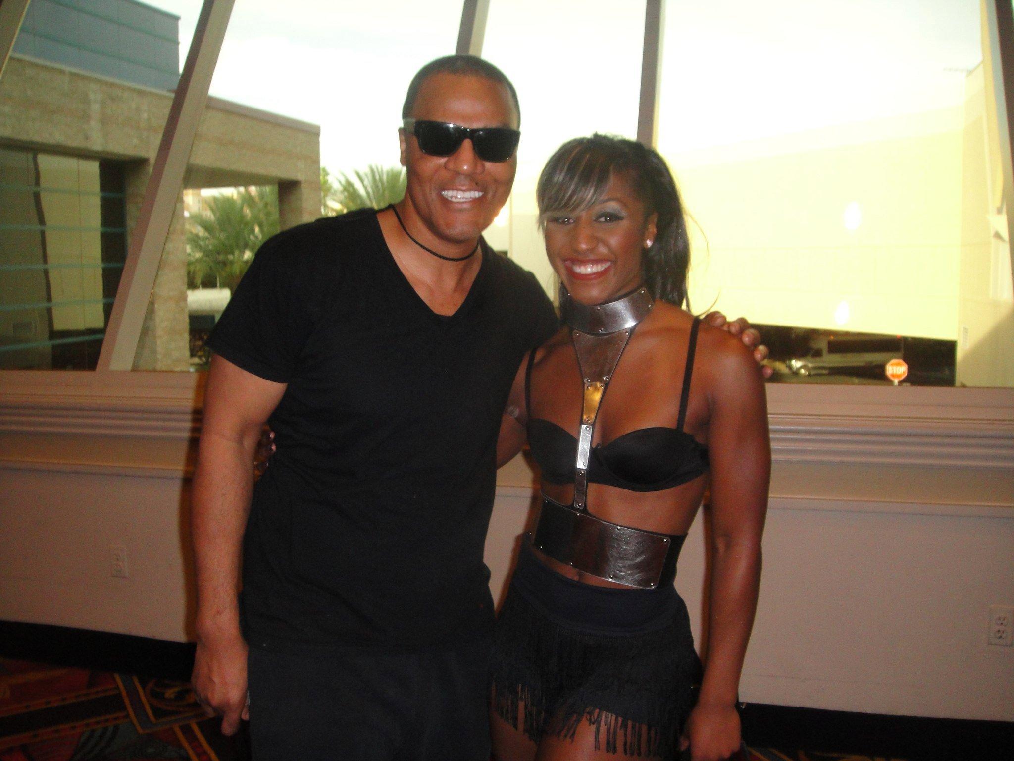 Saleemah E. Knight and Frank Gatson backstage for the Beyonce Billboard Music Awards Performance.jpg