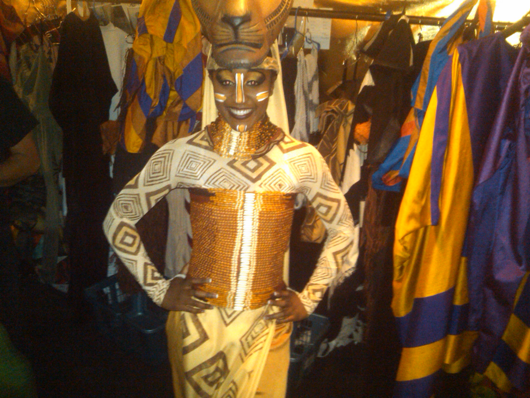 Saleemah E. Knight Backstage in The Lion King Broadway Musical.jpeg
