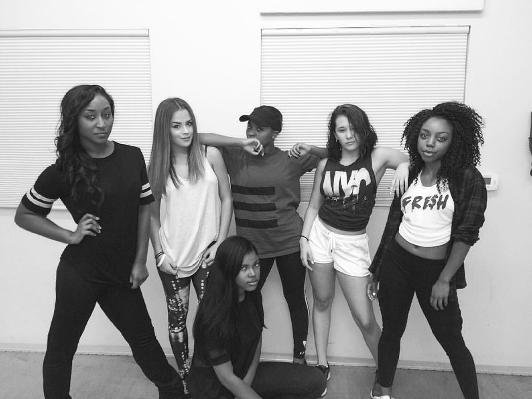 "Rehearsal for the Diamond K. White music video ""Born Rich""- Choreography by Saleemah E. Knight"