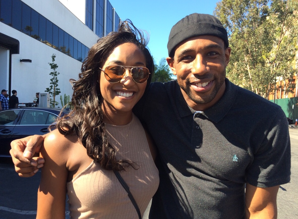 """Backstage at """"So You Think You Can Dance"""" (CBS Studios) -Saleemah E. Knight and """"Twitch"""""""