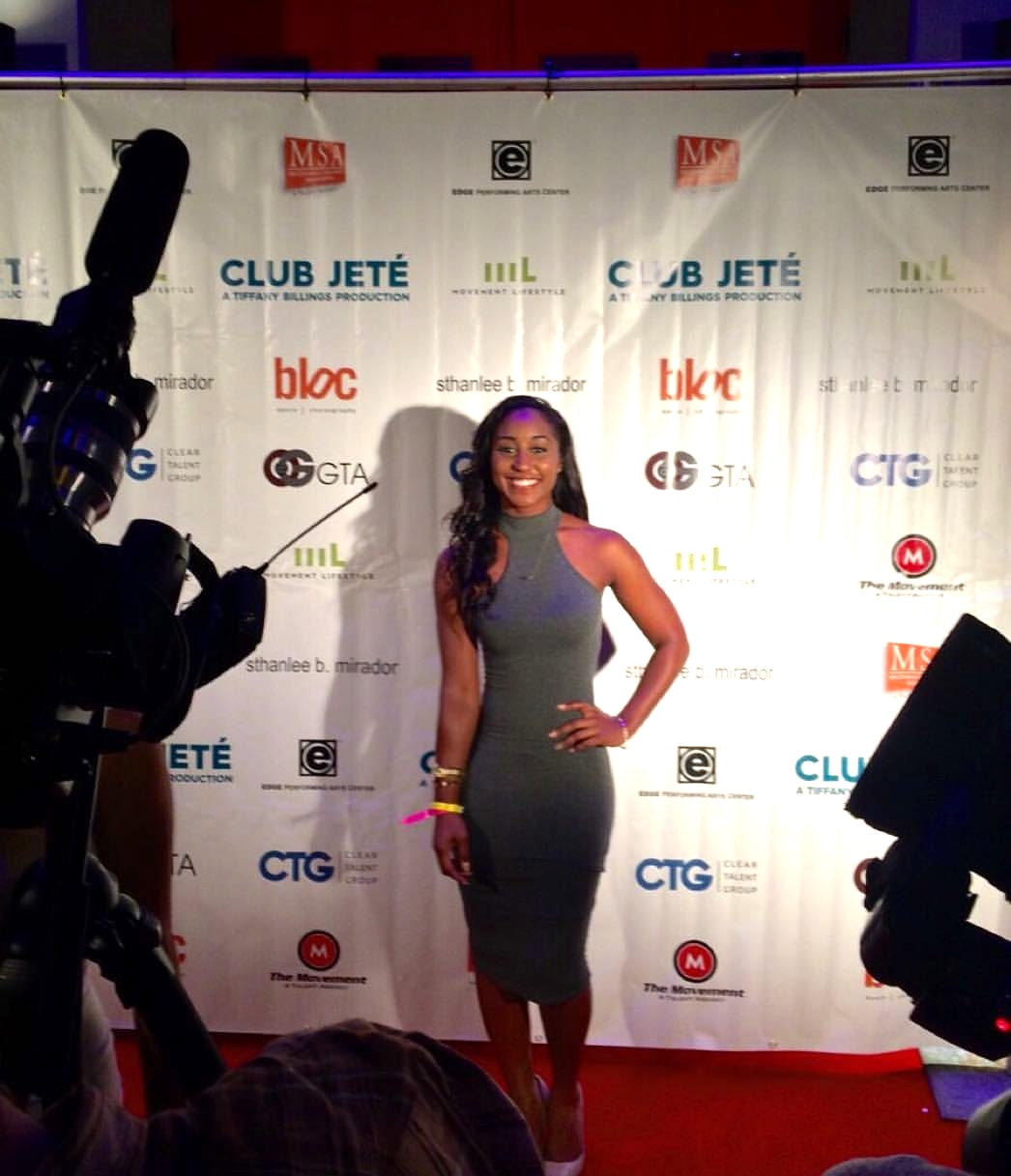 Club Jeté 2015 Red Carpet Anniversary