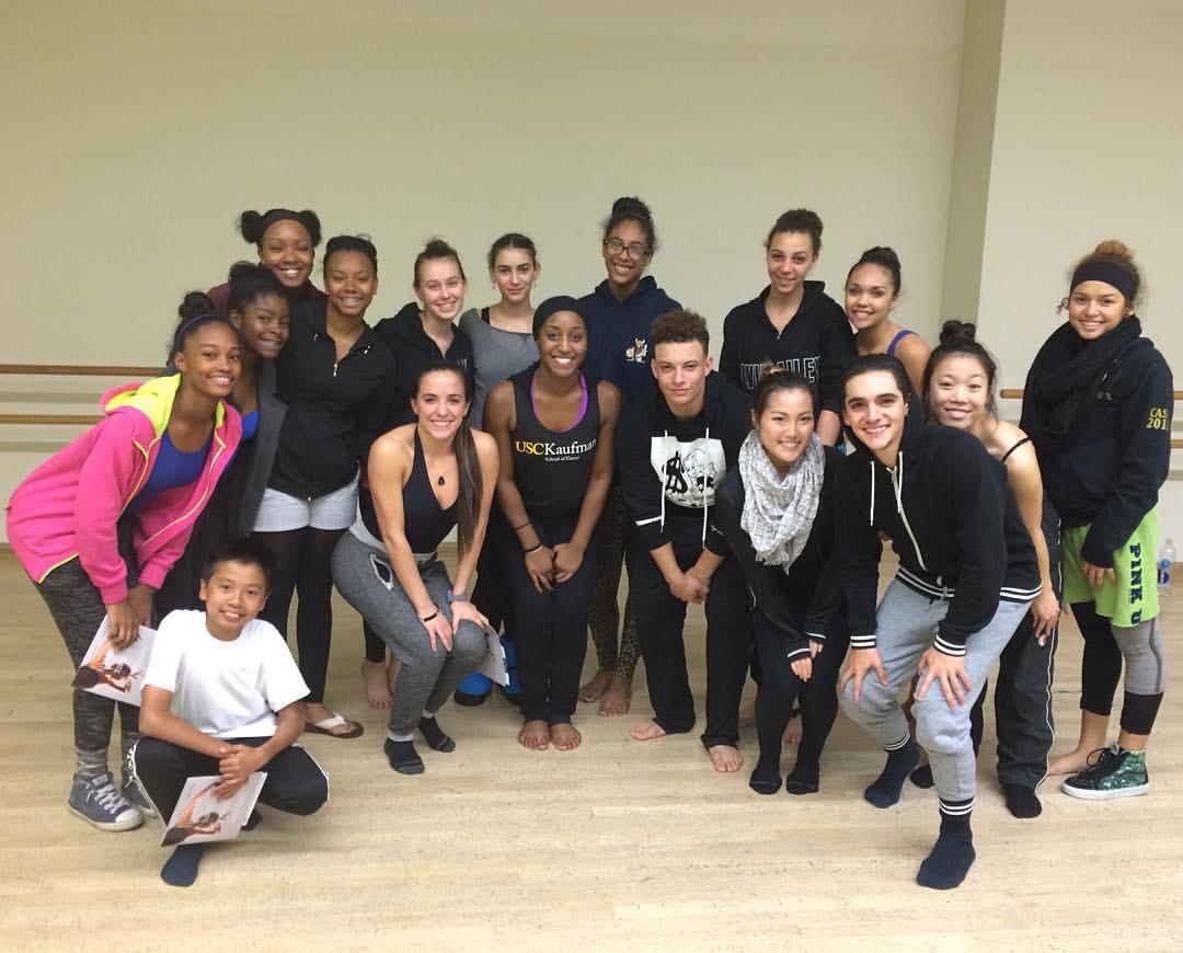 USC Kaufman Jazz Dance Master Class with Saleemah E. Knight