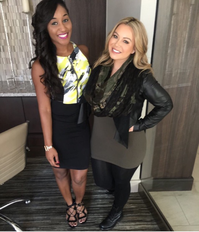 Diamond Skin Care and Be Flawless interview and feature with Chiquis Rivera and Saleemah E. Knight