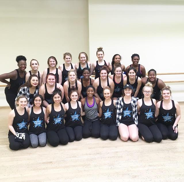 Centennial Sparklers Dance Team Guest Master Class with Saleemah E. Knight