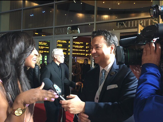 """Meet the Blacks"" Movie Premiere Red Carpet and Interview with ABC 7 LA News"