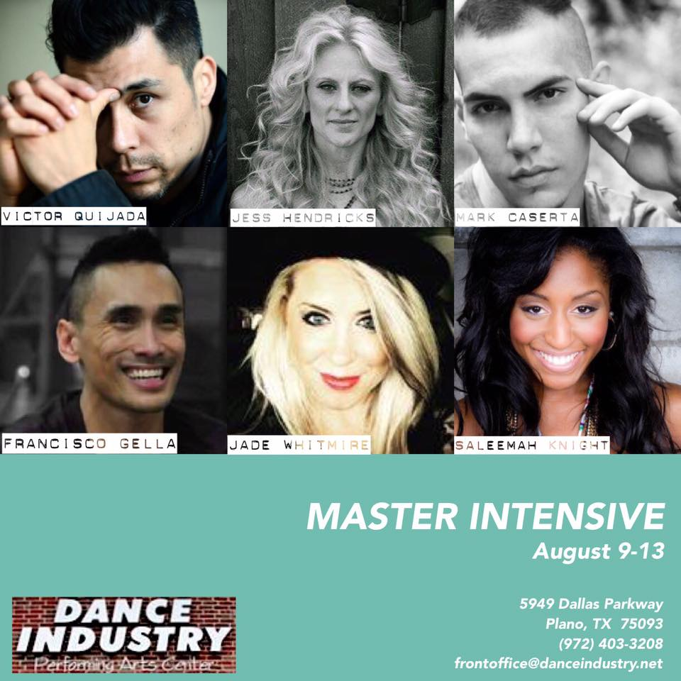 Dance Industry Performing Arts- Contemporary Jazz Guest Master Classes with Saleemah E. Knight