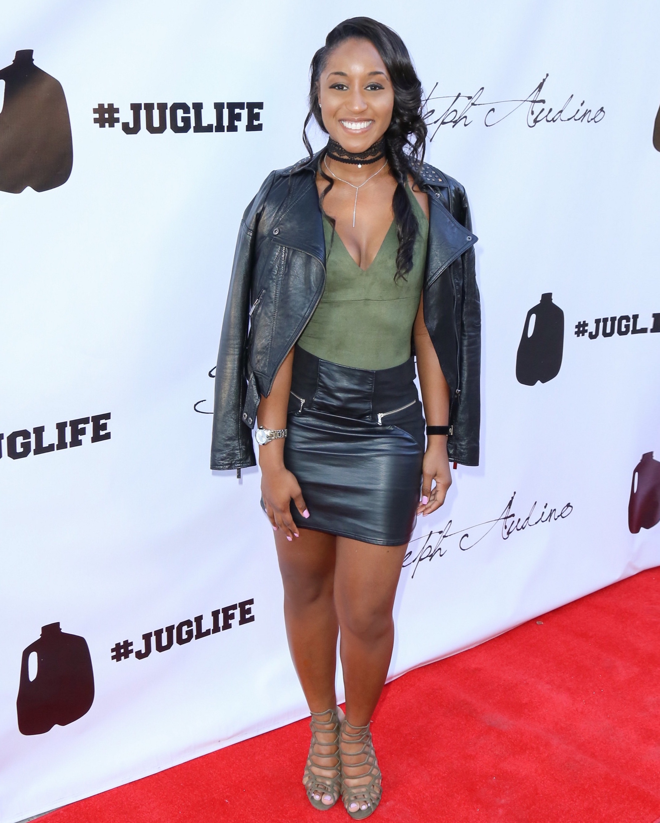 "Saleemah E. Knight at the JaVale McGee and Steph Audino ""Juglife"" Red Carpet Soiree"