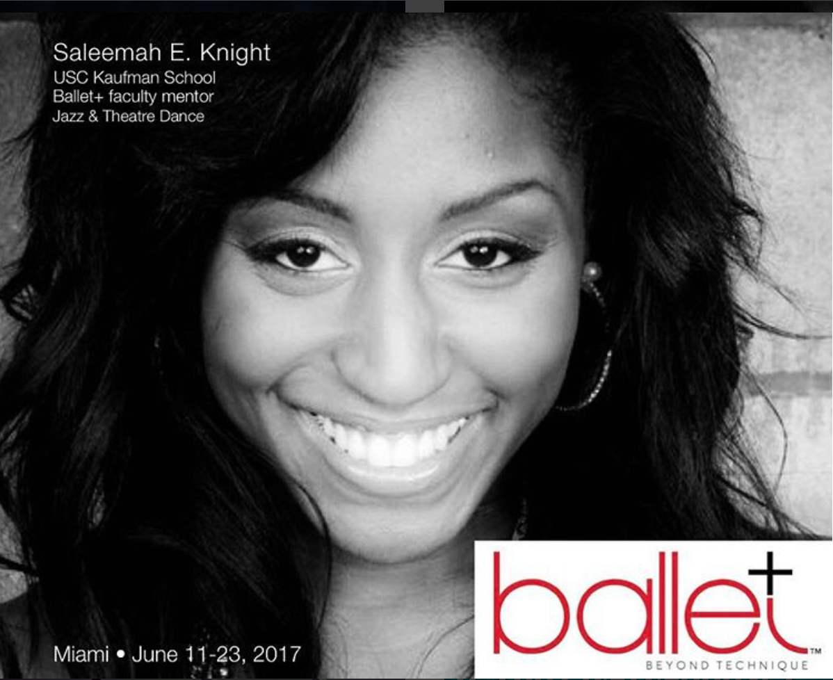 Ballet + (Beyond Technique)- Guest Master Instructor/ Faculty Mentor