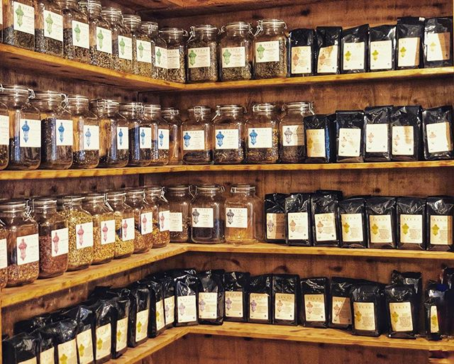 We offer a huge selection of our own Teas & Coffees 🍵 ☕️😋 All Organic! #coffee #tea #organiccoffee #organictea #matcha #tealovers #afternoontea #teaspot #cuppatea #cupofjoe #singlebean #ethiopiancoffee #coffeeworld #teaaddict #coffeelover #coffeeaddict #ues #uppereastside #kewgardensny #yorkvillenyc