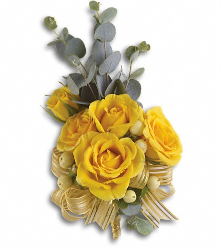 Sun Bright Corsage $40-$50(As Shown $40) -