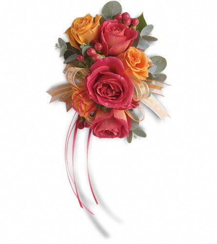 Sunset Corsage $40-$50(As Shown $40) -