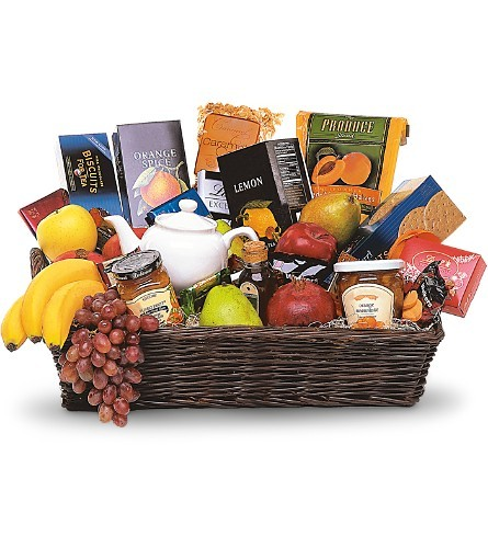 Grande Gourmet Fruit Basket $125 -