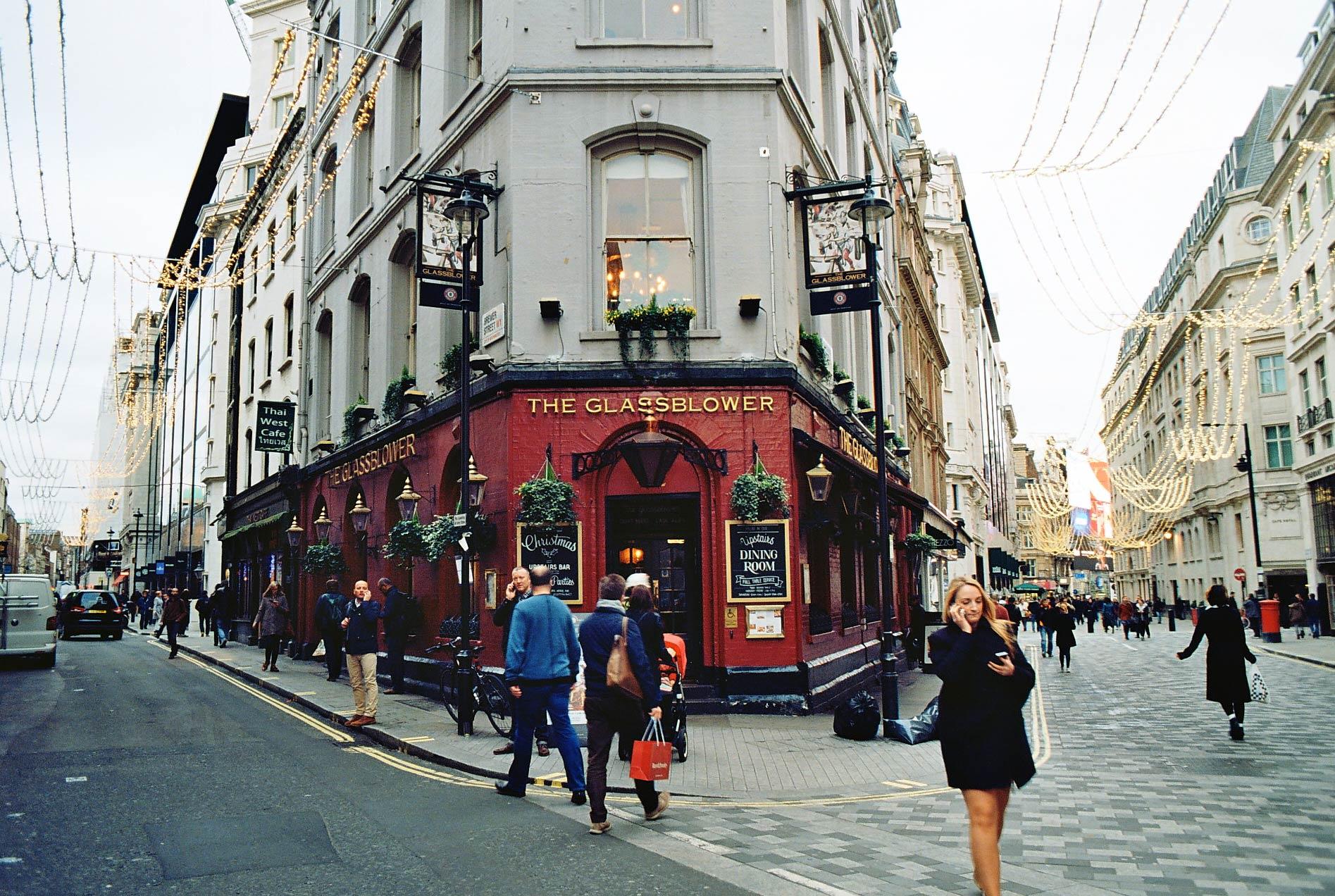 The Glassblower, Glasshouse Street