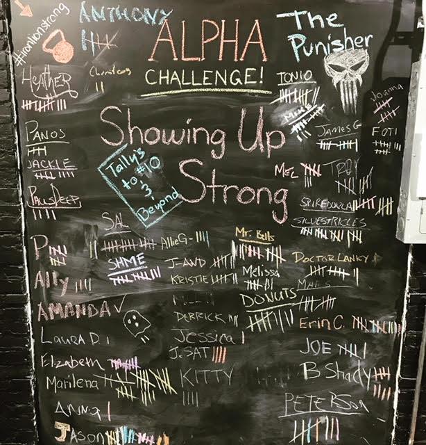 January's Alpha Challenge
