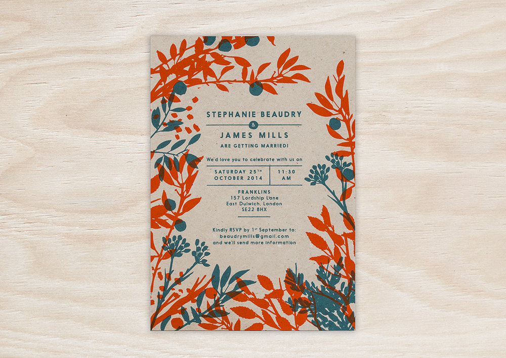 Wedding Stationery Pirrip