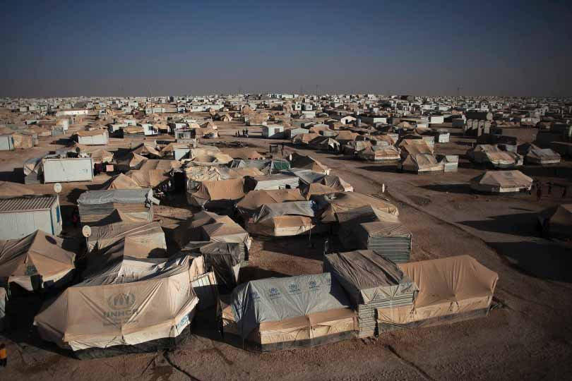 REFUGEE CAMP -