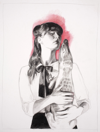 04_Kojii_drawing_by_Mercedes_Helnwein_Crocodile_2.jpg