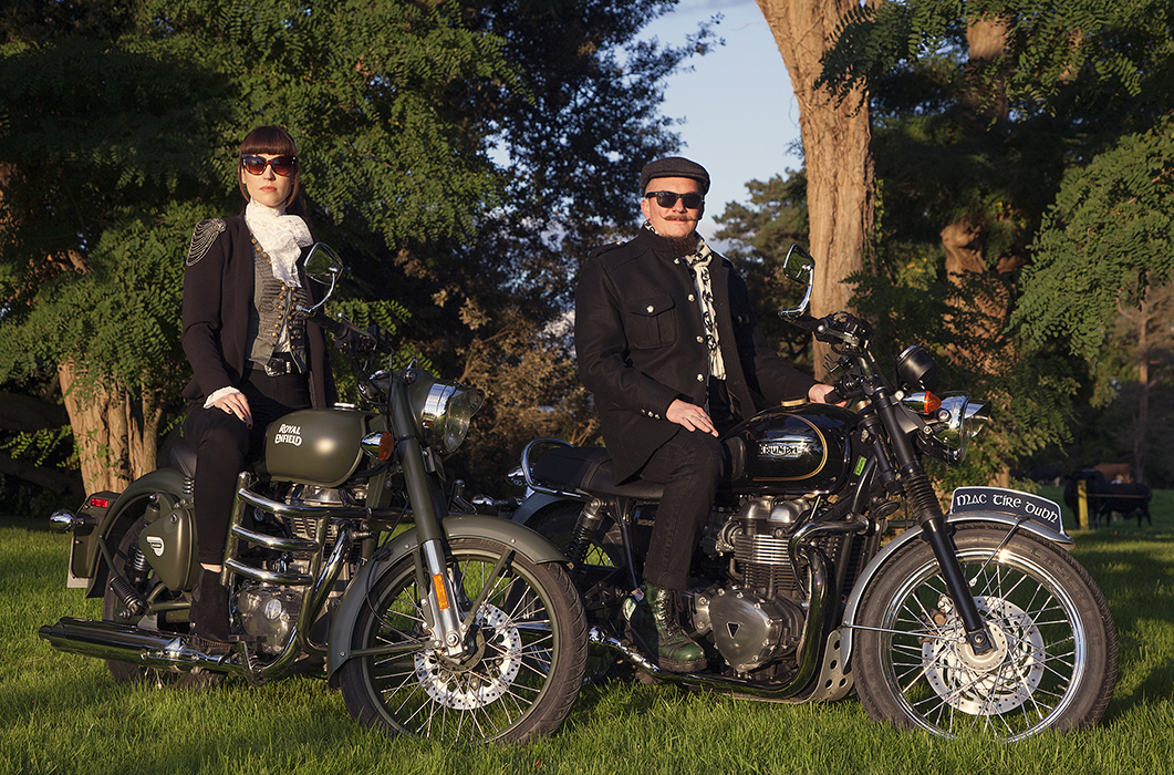 Kojii and Cyril Helnwein Royal Enfiled and Triumph Bonneville_MG_4355a_sml.jpg
