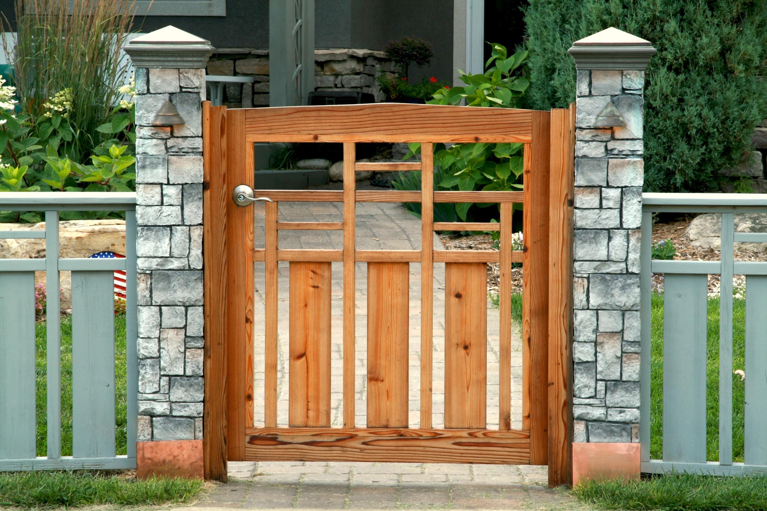 Pergolas, decks, bridges, arbors, fences...