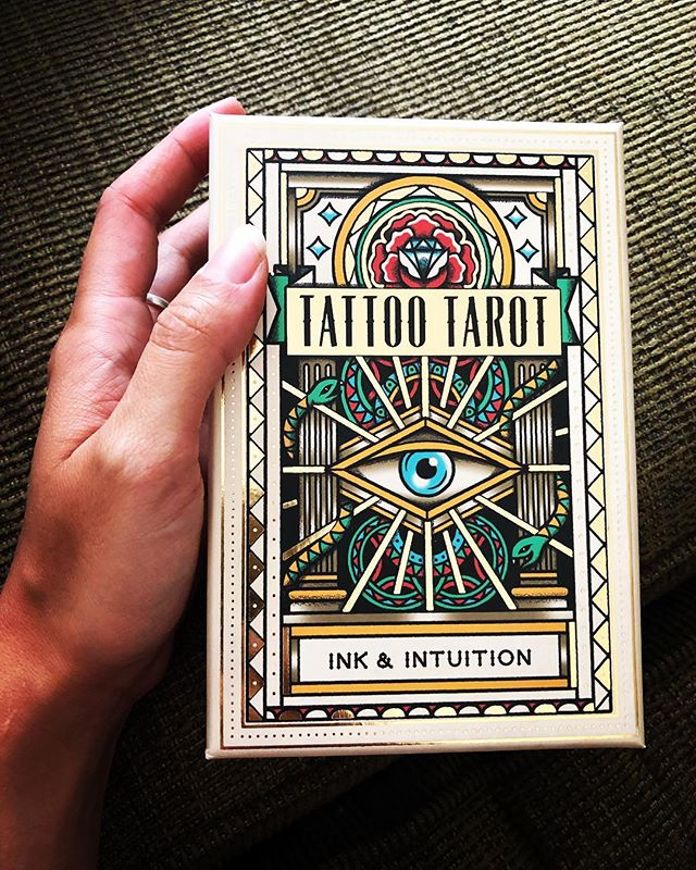 Getting a new deck is the next best thing to Heaven. This one caught my eye after getting a shout out from my favorite witchy wonder @whosthemann. What's the latest deck you've received? Did you choose it, or did it choose you? #tarot #pdxtarot #witchesofinstagram #witchesofportland #witchstyle #witchstagram #cityofroses #tattoopdxtattoo #powellsbooks #powells #pdx #portland #pdxtarot #inkandintuition #tattootarot #oldschool #illustrated by @megamunden #fuckyeah