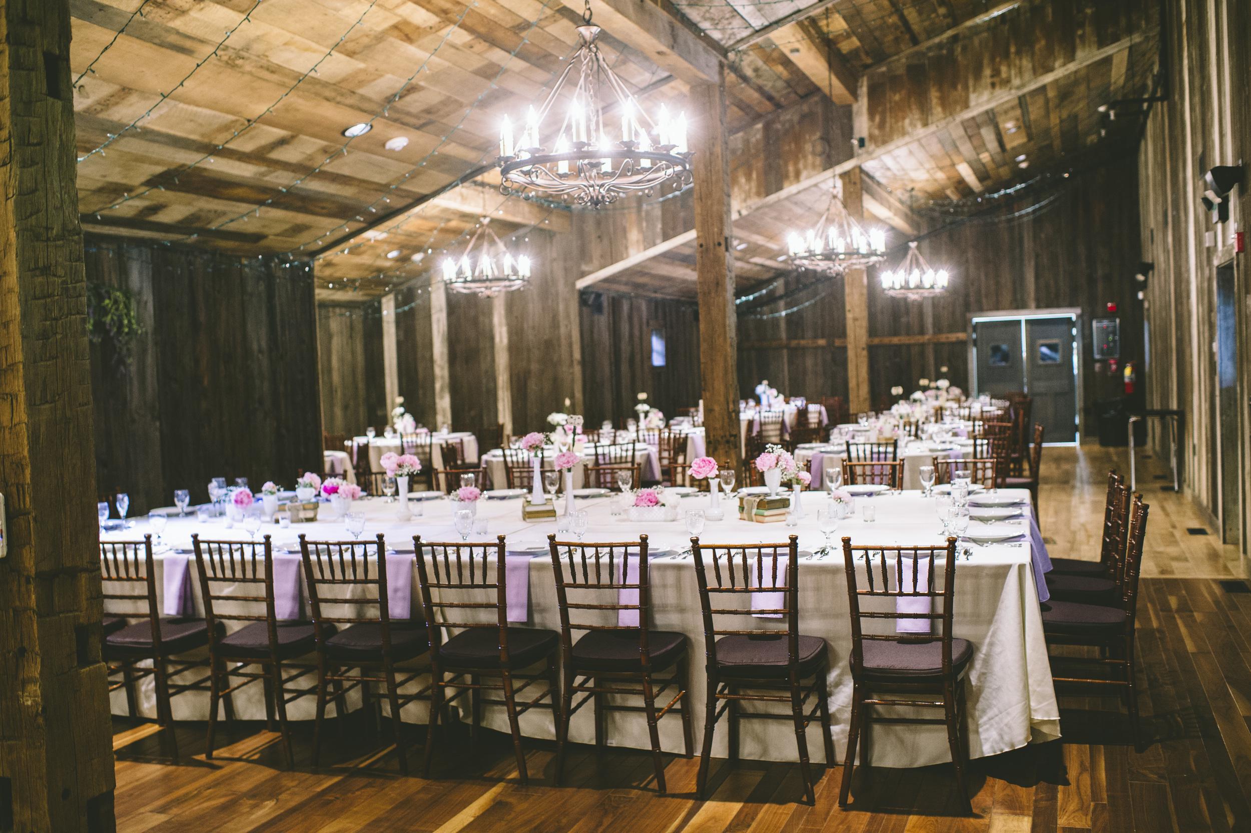The Oak Lodge dining hall