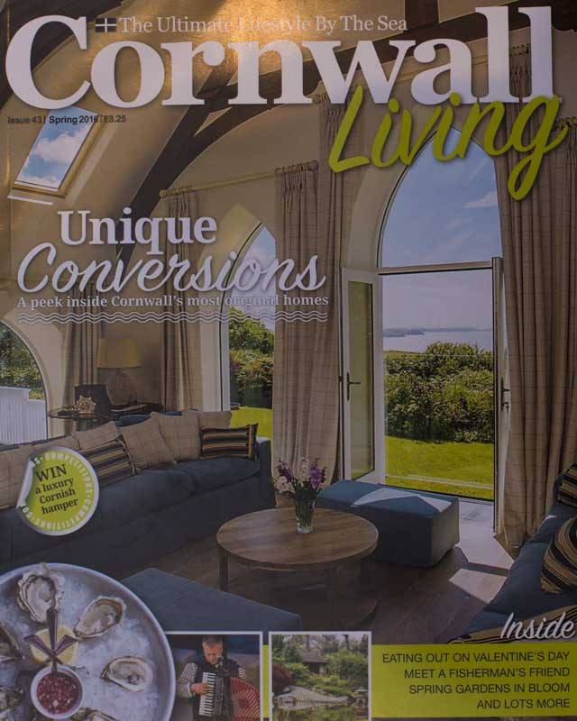 Cornwall Living Cover Boutique Retreats