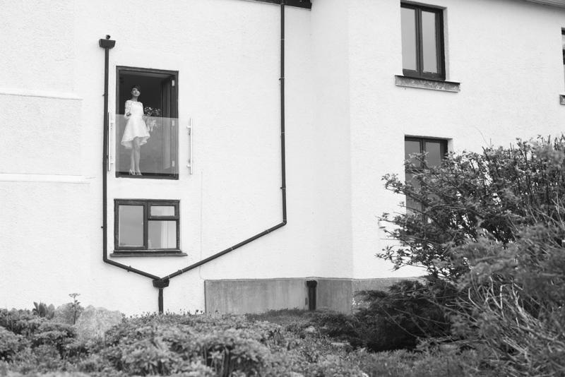 Cornish elopement photograph