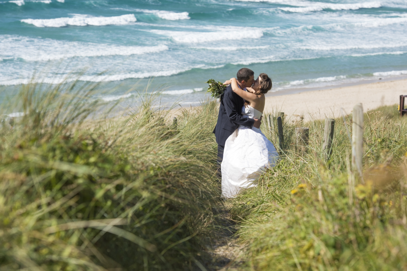 Wedding at sennen cove