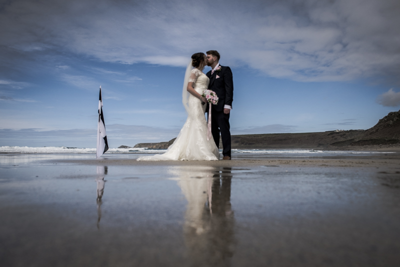 Beautiful beach wedding