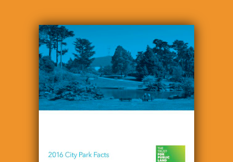 Trust for Public Lands 2016 City Parks Facts -