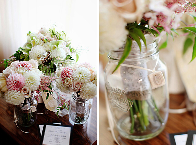 Dahlia-Bouquet-Bridesmaid-Pair-Oleander-NJ-Wedding-Floral-Design