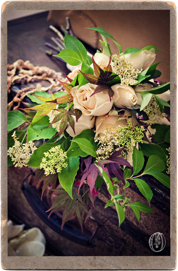 Ivory-Cream-Neutral-Loose-Organic-Rose-Maple-Foliage-Linen-Bouquet-Oleander-New-Jersey-Bucks-County-PA-Wedding-Florist-Event-Floral-Design
