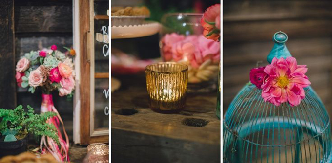 Bohemian-Ombre-Summer-Gold-Pink-Coral-Succulent-Bouquet-Ombre-Bouquet-Handle-Rustic-Barn-Wedding-Vintage-Glass-BHLDN-Anthropologie-Dress-Sweets-Dessert-Table-Terrain-Styers-PA-Oleander-Bucks-County-PA-Philadelphia-Wedding-Florist-Floral-Event-Design