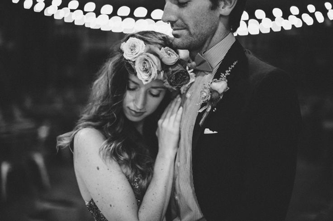 Bohemian-Summer-Gold-Rustic-Wedding-BHLDN-Anthropologie-Dress-Floral-Hair-Crown-Terrain-Styers-PA-Market-Lights-Antique-Wood-Gate-Ceremony-Backdrop-Black-White-Film-Portrait-Oleander-Bucks-County-PA-Philadelphia-Wedding-Florist-Floral-Design-Event-2