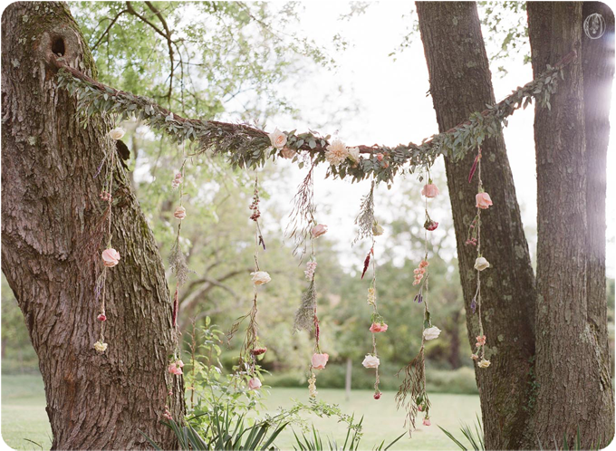 Vintage-NJ-Organic-Rustic-Farm-Barn-Wedding-Hanging-Suspended-Floral-Curtain-Tree-Ceremony-Backdrop-Blush-Berry-Herb-Lavender-Bouquet-BHLDN-Unionville-Vineyards-Ringoes-NJ-Jennifer-Sosa-Oleander-Bucks-County-PA-NJ-Wedding-Florist-Event-Floral-Design