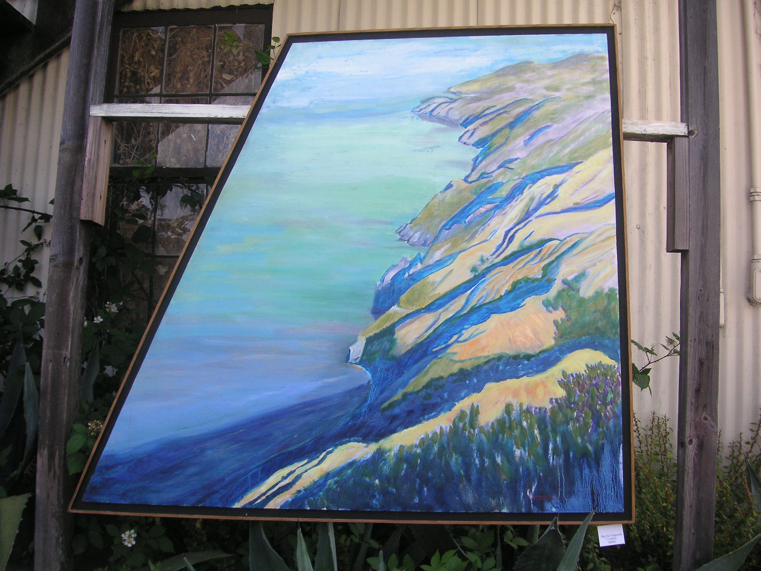 Big Sur Trapezoidal (LARGE) ! $3500