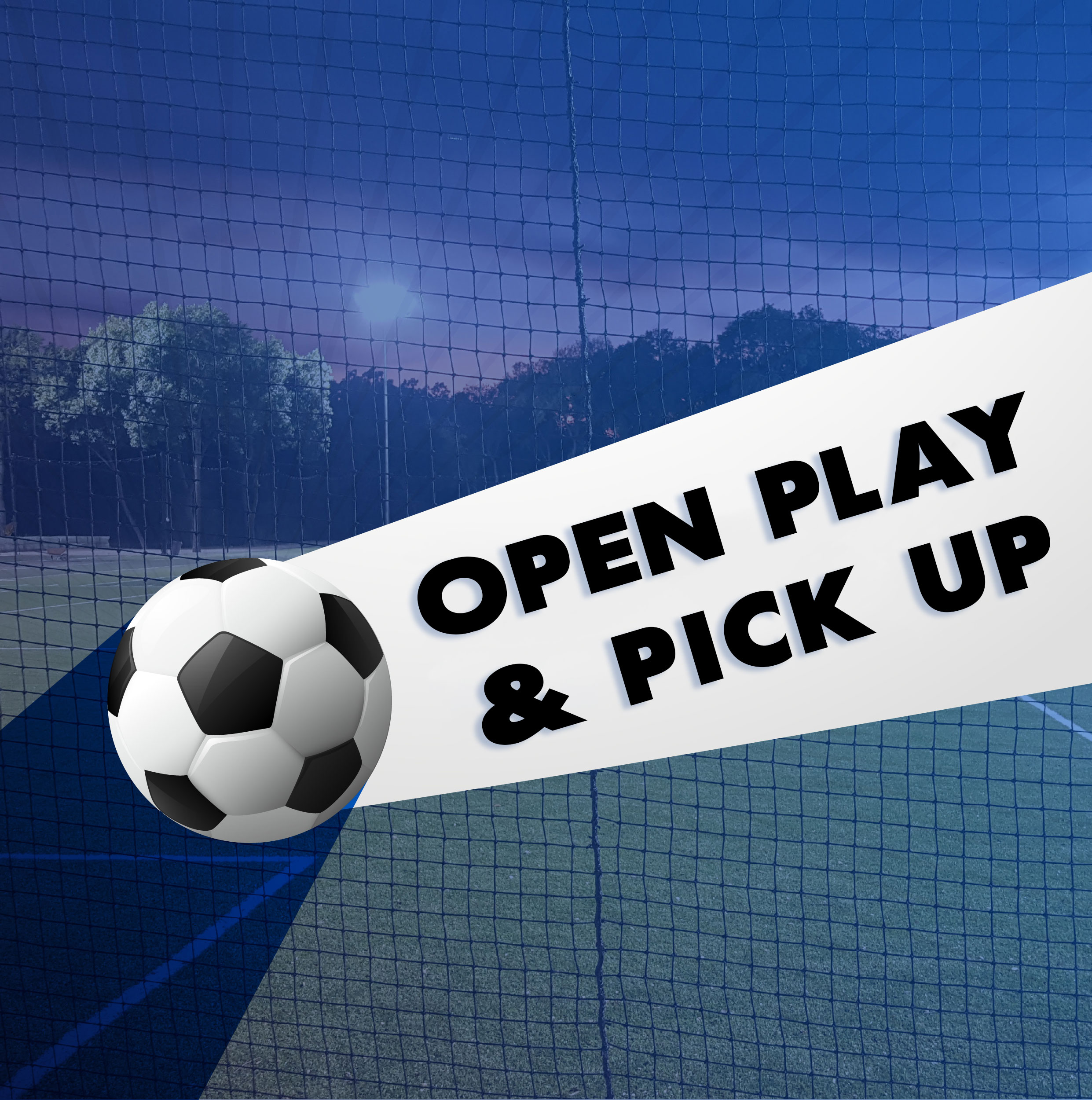 Open Play - When:Upon Availability, To book, click here to register and reserve your slot/field.Cost:$10/hour non-membets, $5/hour membersContact:info@forosportsclub.com