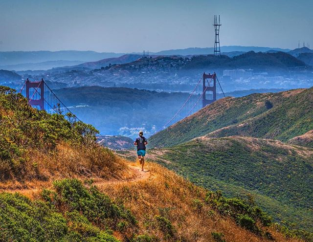 Run #Cali !! #marinheadlands #calirunner #visitcalifornia