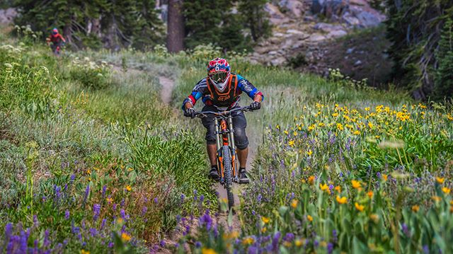 Recovering from Death Ride is all about chasing @kelleyclay82 and his friend Chris around @kirkwoodmtn !! #mountainbiking #actionphotography #mtbphotos #kirkwood #tryingnewthings #epic