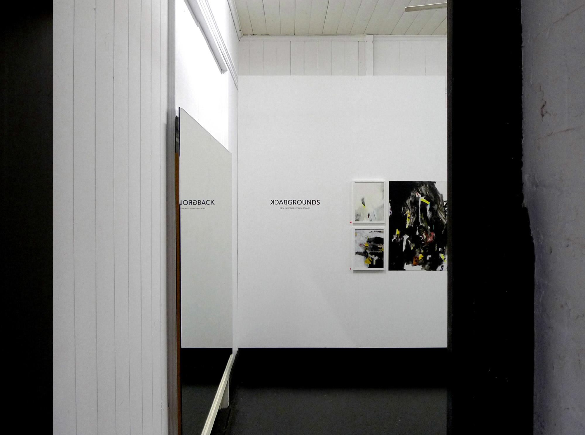 Backgrounds , 2012, Love Love Studios, Brisbane, Solo Exhibition