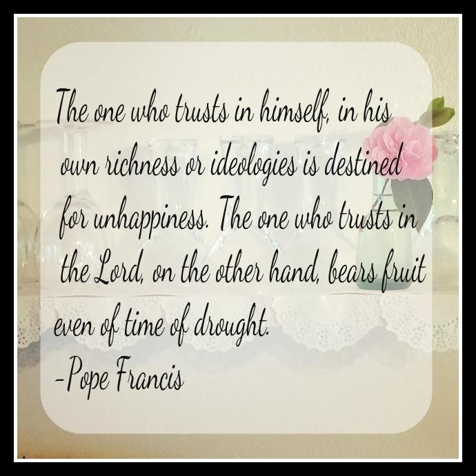 Pope Francis-trust