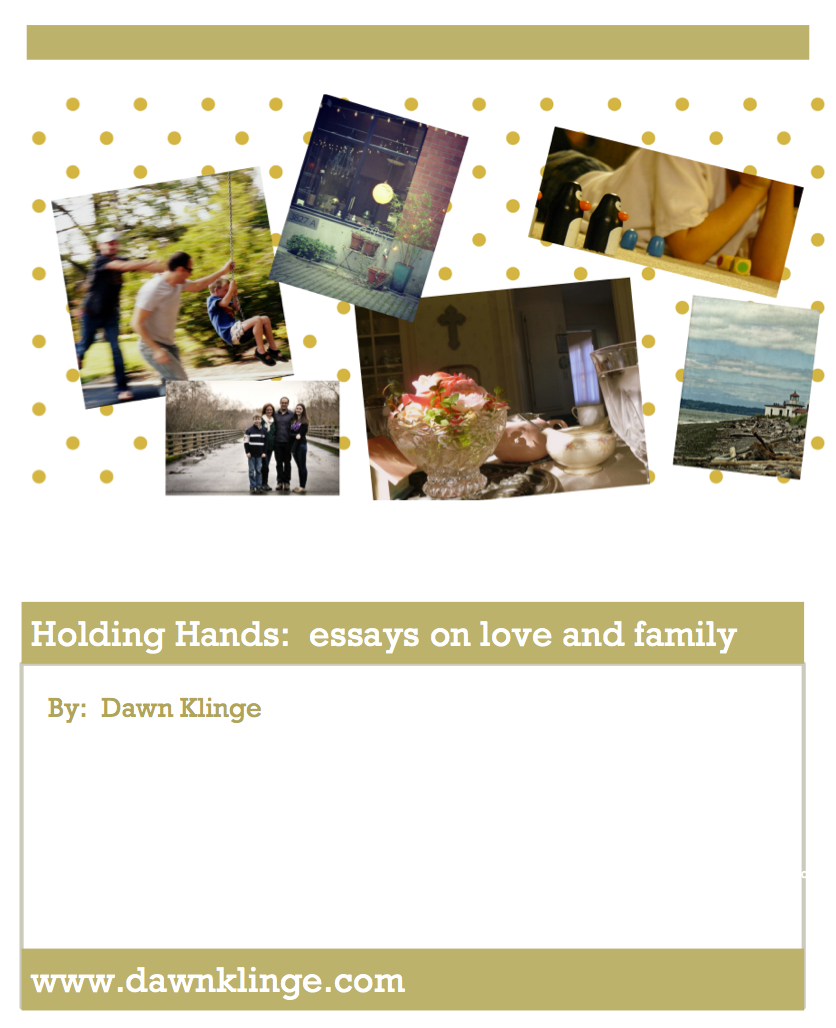 Holding Hands, by Dawn Klinge