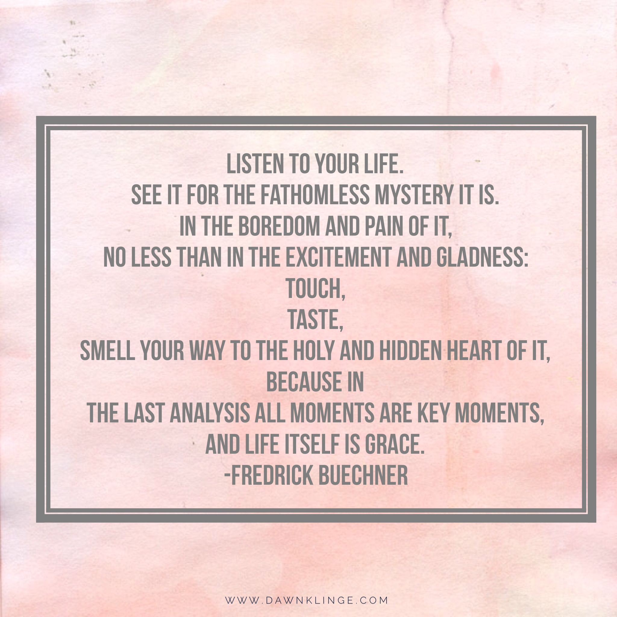 life itself is grace   frederick buechner   christian living   what is grace   Above the Waves    #fredrickbuechner