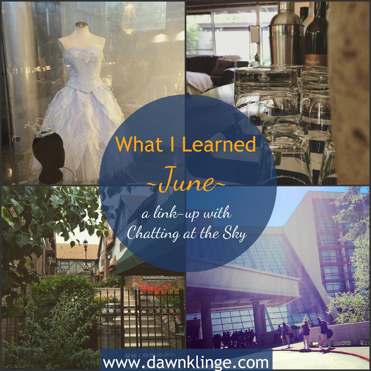 what I learned- June