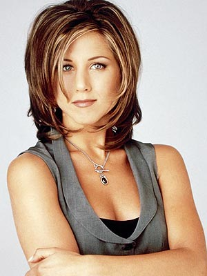 """The """"Rachel"""" was the most popular hairstyle in the year I graduated from high school"""