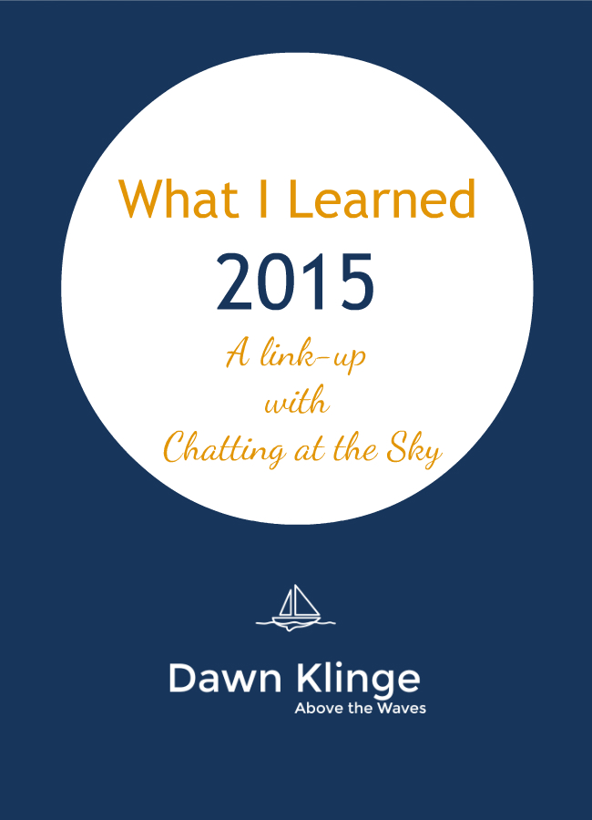What I Learned 2015