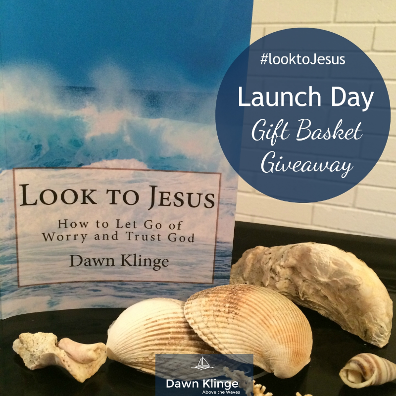 Look to Jesus, launch day book giveaway