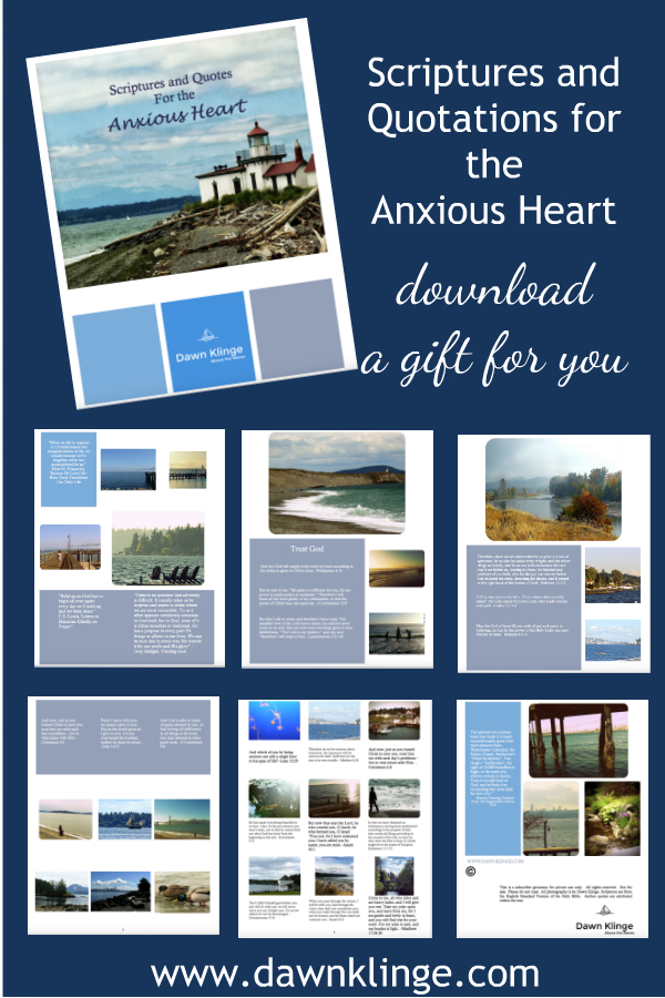 free downlaodable booklet: scriptures and quotations for the anxious heart