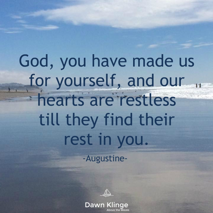 rest in God, Augustine